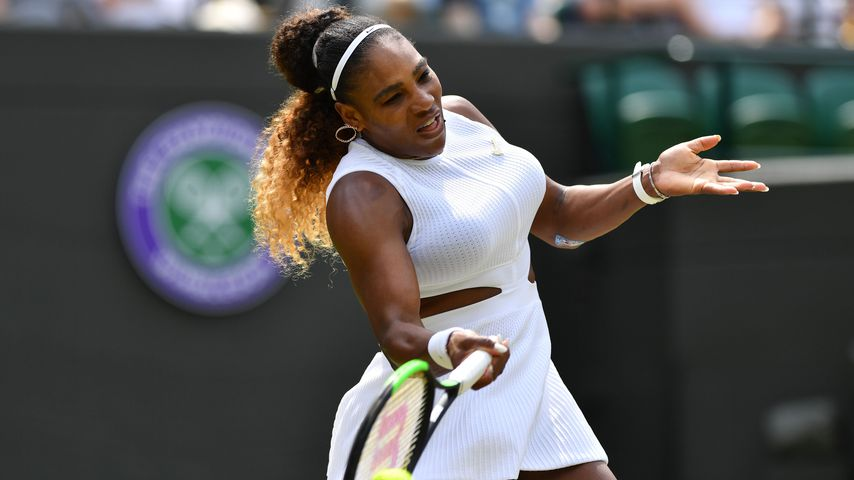 Serena Williams beim Wimbledon-Turnier 2019