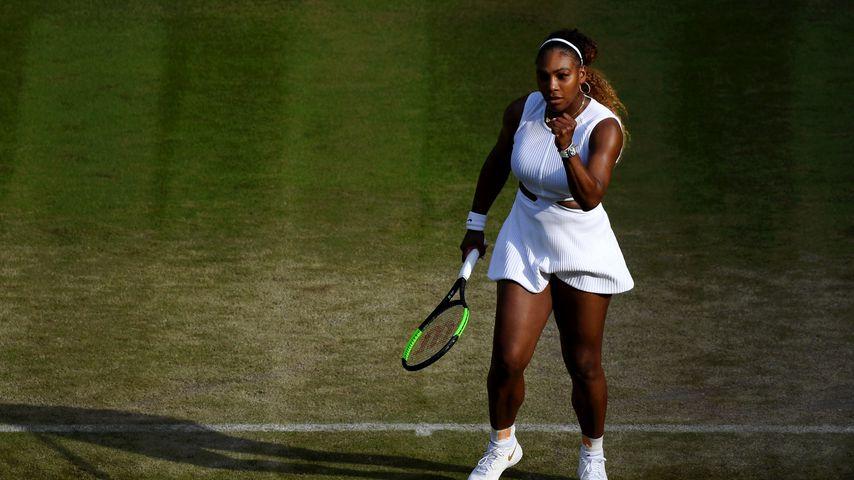Serena Williams beim Wimbledon-Turnier 2019