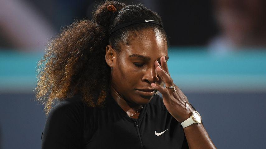 """Serena Williams: """"Ich wäre bei der Geburt fast gestorben!"""""""