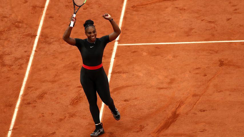 Serena Williams bei den French Open