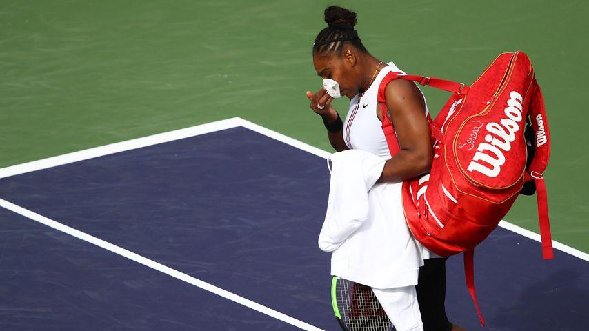Serena Williams im März 2019 in Indian Wells