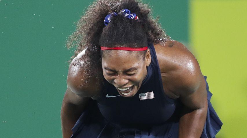 Traum geplatzt: Serena Williams schreit Olympia-Frust raus