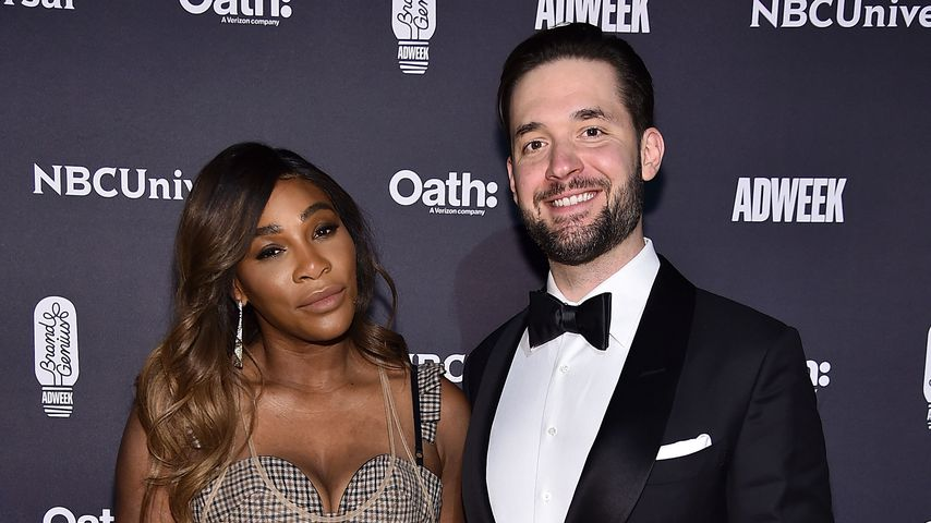 Serena Williams und Alexis Ohanian in New York
