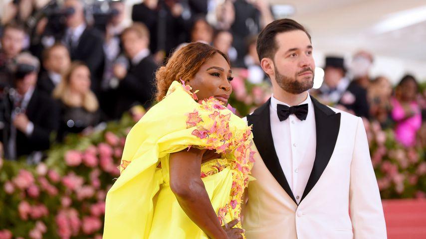 Serena Williams und Alexis Ohanian bei der MET Gala 2019