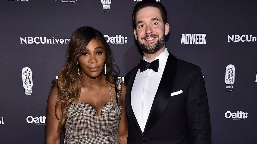 Serena Williams und Alexis Ohanian bei den Brand Genius Awards 2018