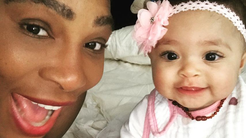 Tennis-Star Serena Williams und ihre Tochter Alexis Olympia Ohanian Jr.