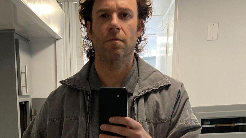 """Seth Rogen am Set von """"96 Hours"""" im Mai 2021"""