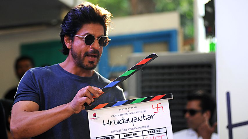 "Shah Rukh Khan am Set von ""Hrudayantar"" in Mumbai, 2016"
