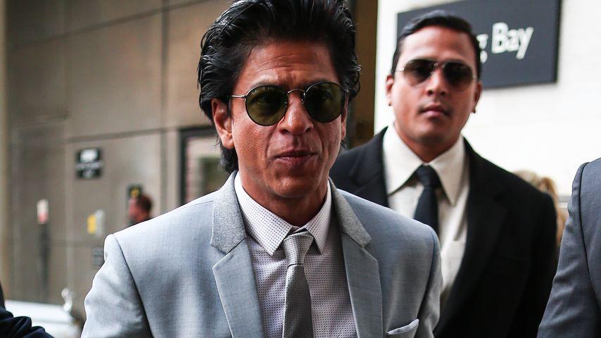 Shah Rukh Khan auf dem Weg ins BBC Studio in London