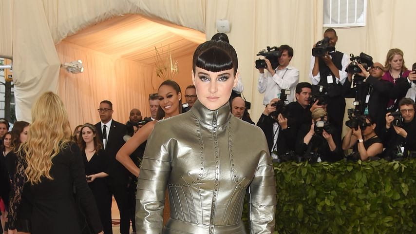 Shailene Woodleys Co-Star ist wie George Clooney