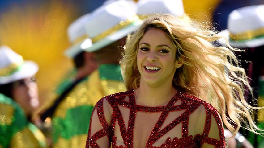 Shakira bei der Fußball-WM in Rio de Janeiro im Juli 2014