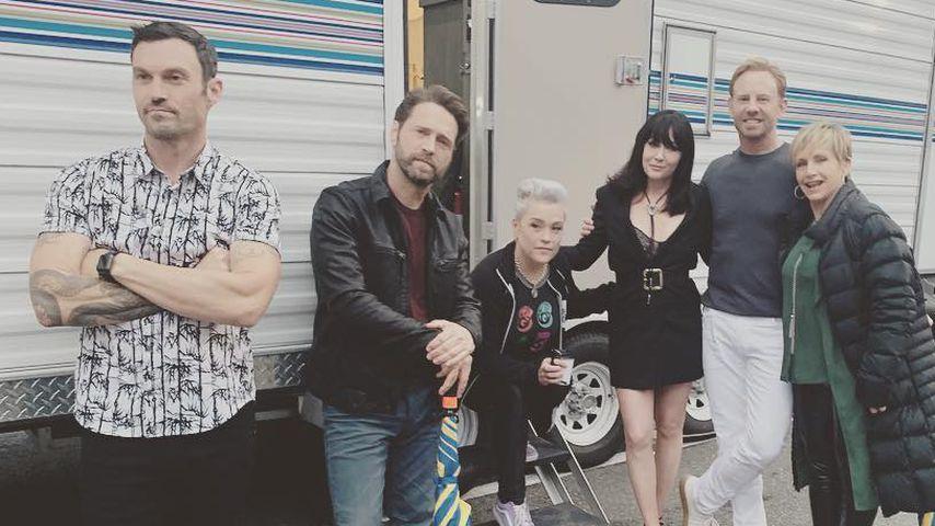 """Shannen Doherty zeigt erste Pics der """"Beverly Hills""""-Reunion"""