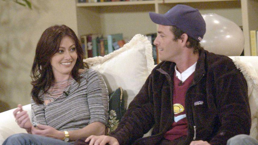 Shannen Doherty nahm 90210-Dreh nur wegen Luke Perrys Tod an