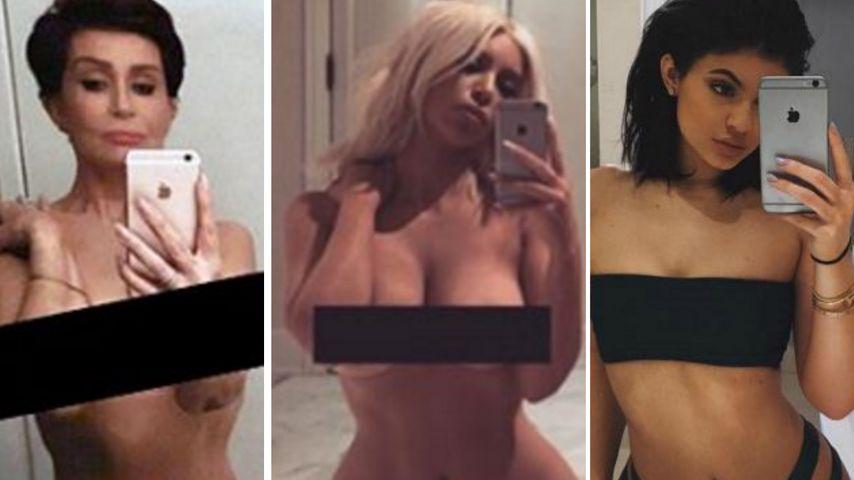 Hype um Kim Kardashian: Ihr Nackt-Selfie wird zum Promi-Hit!