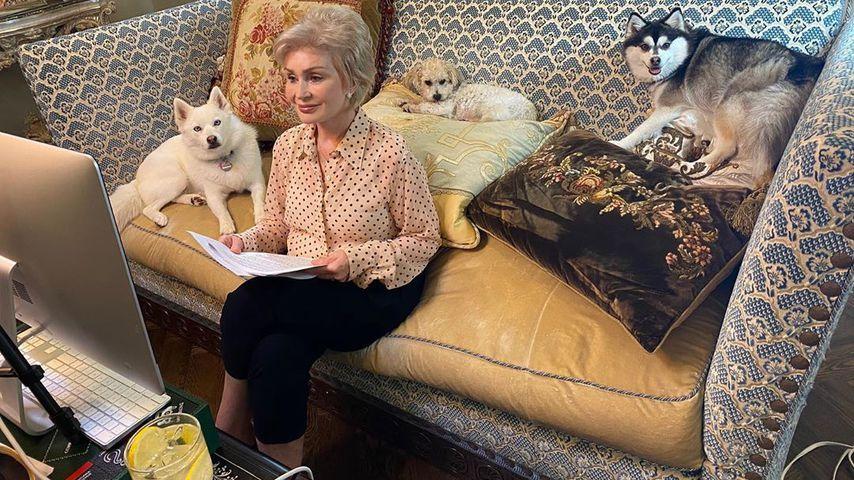Sharon Osbourne im April 2020