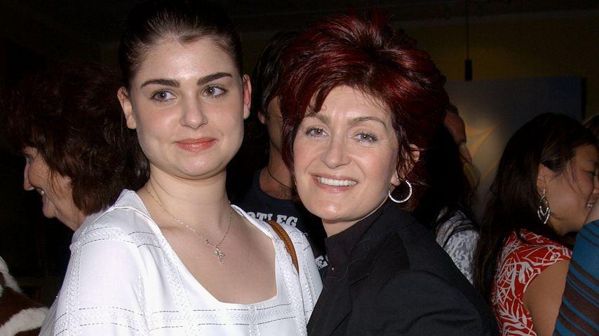 Sharon Osbourne und ihre Tochter Aimee im Jahr 2002