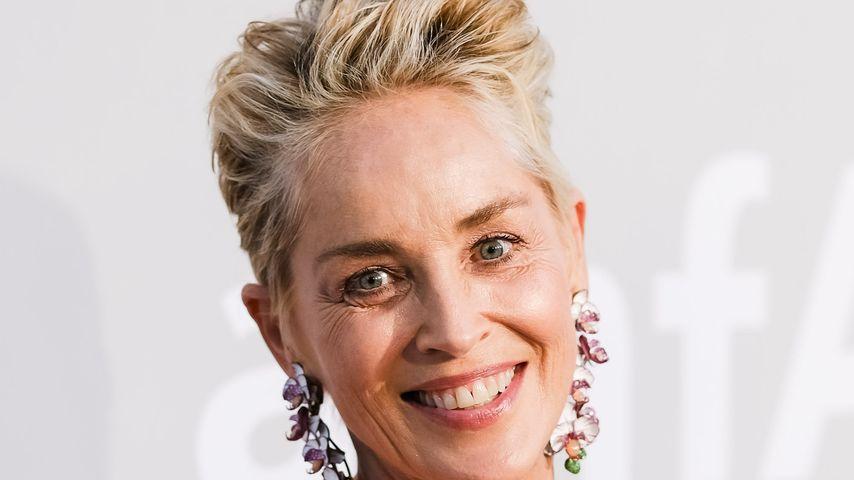 Sharon Stone bei der AmFAR-Gala in Cannes im Juli 2021