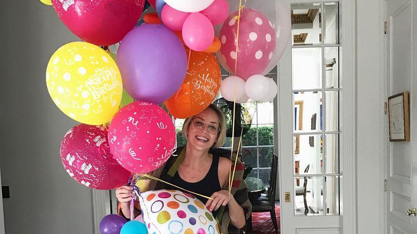 Sharon Stone an ihrem Geburtstag