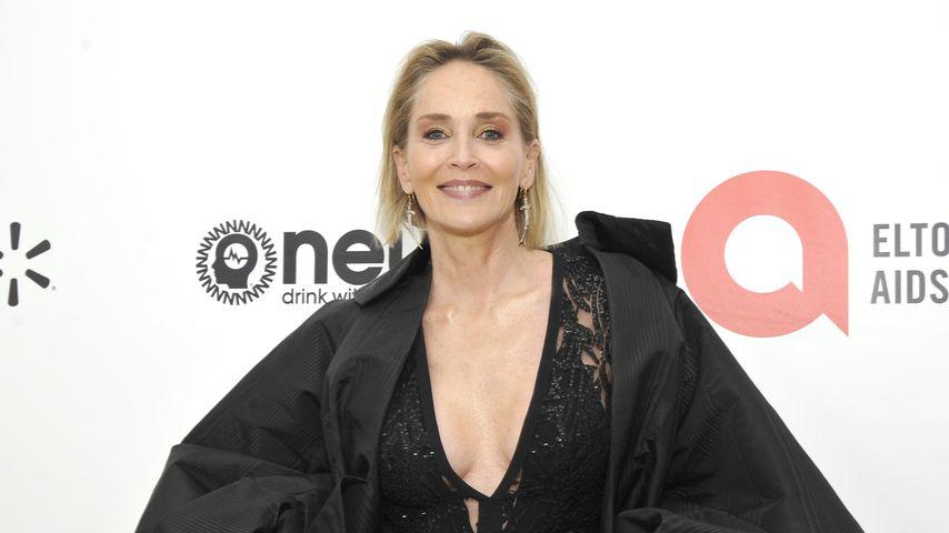 Sharon Stone im Februar 2020 in Hollywood