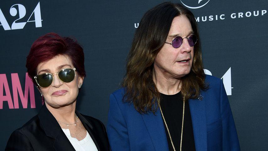 Sharon und Ozzy Osbourne im Juni 2015