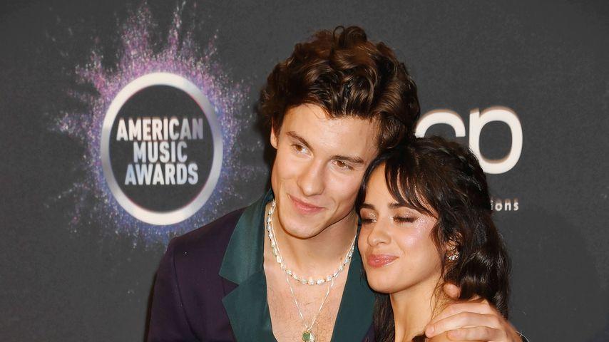 Heiß! Halbnackter Shawn Mendes knutscht seine Camila ab!