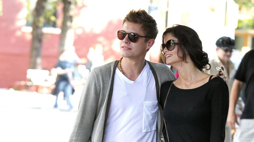 Shermine Sharivar und Xavier Samuel 2010 in New York