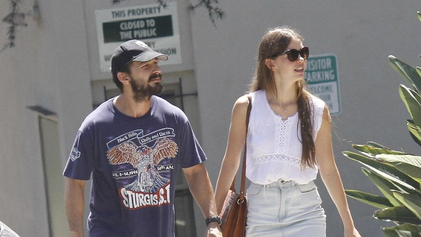 Shia LaBeouf und Mia Goth in Beverly Hills