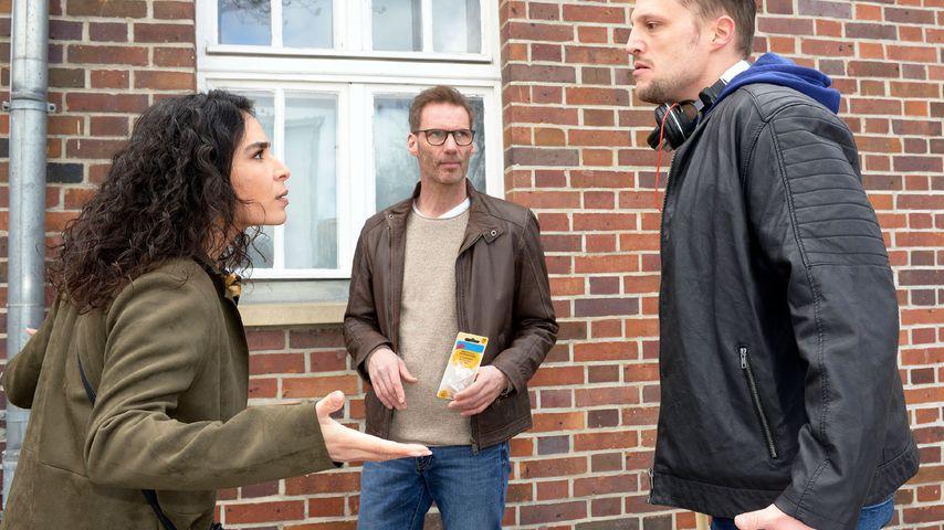 Shirin (Gamze Senol) und Alexander (Clemens Löhr, M.) bei GZSZ