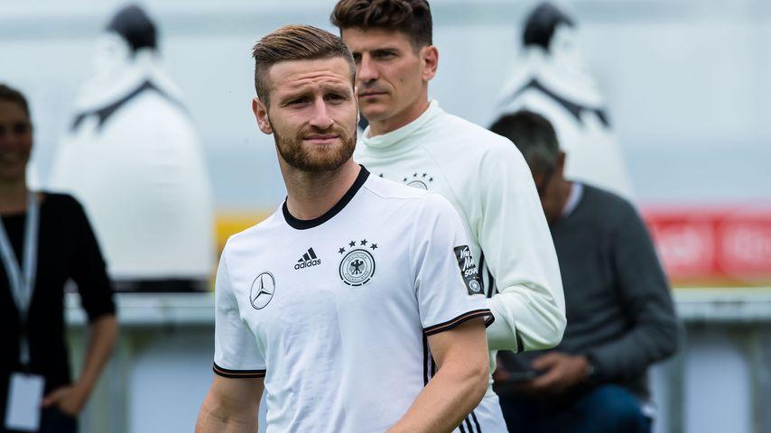 Shkodran Mustafi beim Training der DFB-Elf