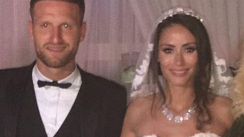 Shkodran Mustafi und Ehefrau Vjosa Kaba