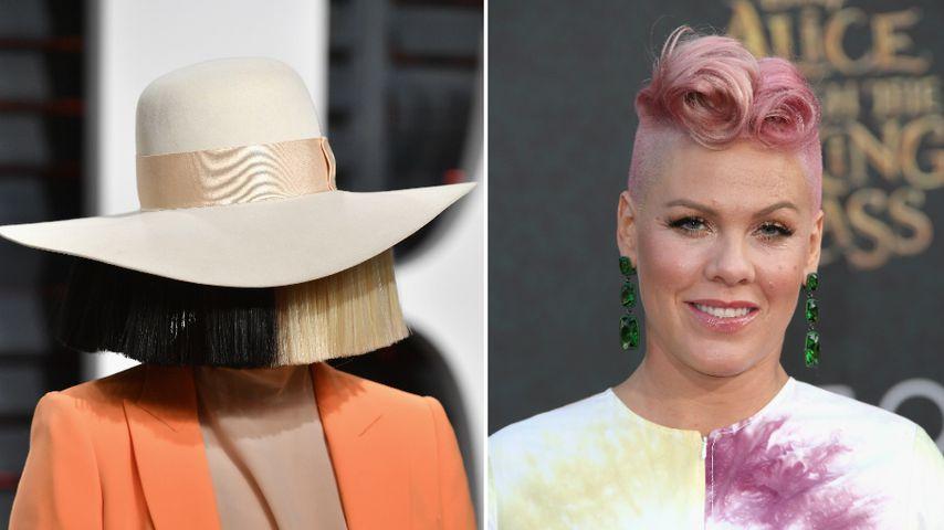 Sia und Pink