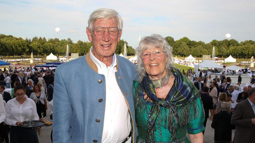 Siegfried und Karin Rauch beim Sommerempfang des Bayerischen Landtags im Juli 2017
