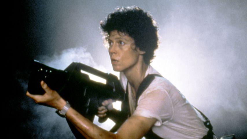 """Sigourney Weaver in """"Aliens - Die Rückkehr"""", 1986"""