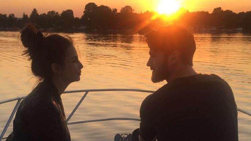 Sila Sahin und ihr Mann Samuel Radliner beim romantischen Ausflug