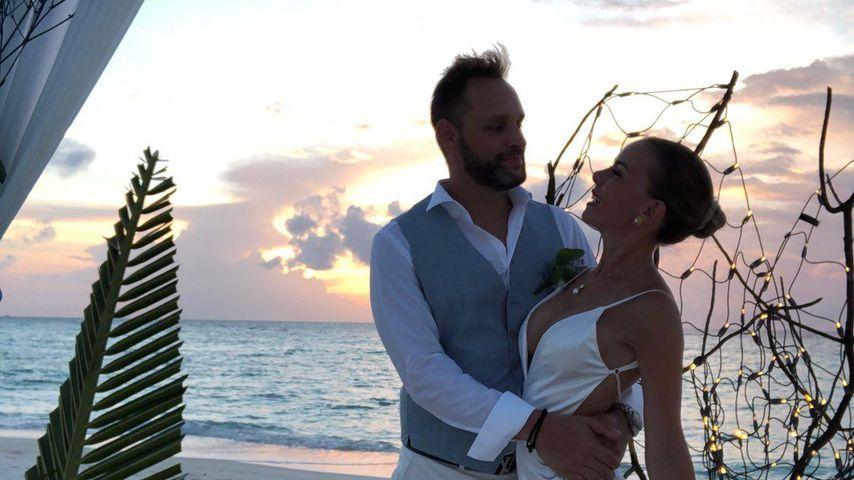 Silvana und Frank an ihrem Hochzeitstag