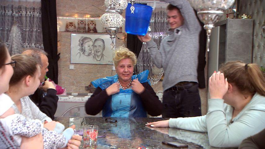 Silvia Wollny mit ihrer Familie