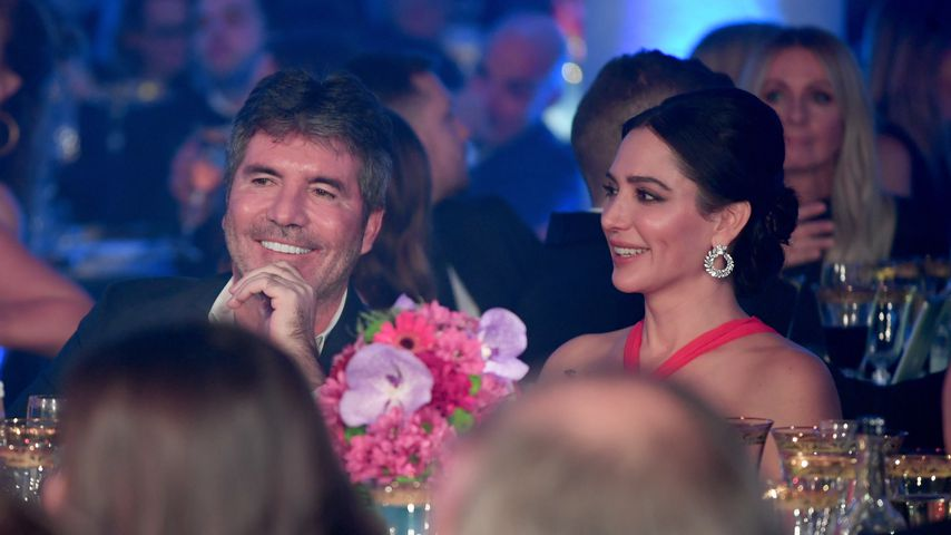 Simon Cowell und Lauren Silverman bei einer Gala in London, November 2018