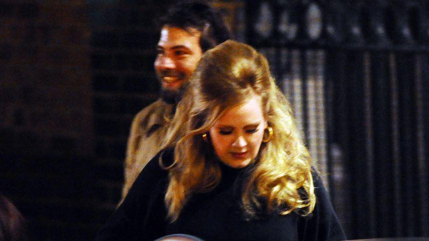 Simon Konecki und Adele in London