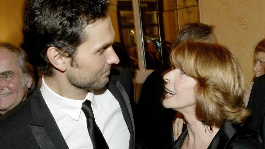 Simon Verhoeven und Senta Berger bei der Aftershow des Bayerischen Filmpreises, 2010