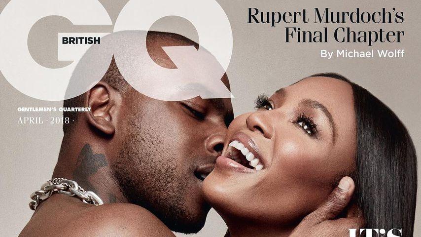 Rapper Skepta und Naomi Campbell auf dem Cover der britischen GQ März 2018