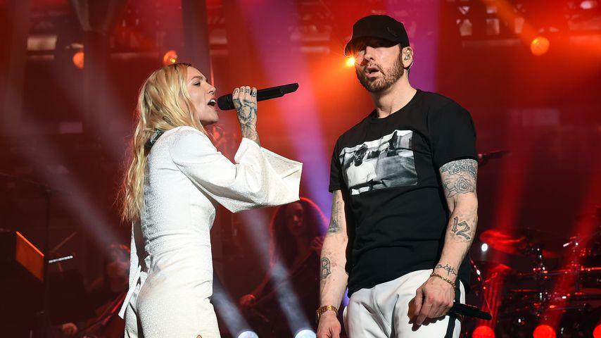 Skylar Grey und Eminem beim Coachella 2018