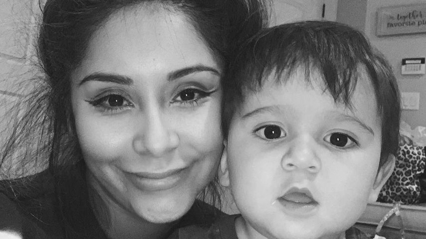 Snooki mit ihrem Sohn Angelo
