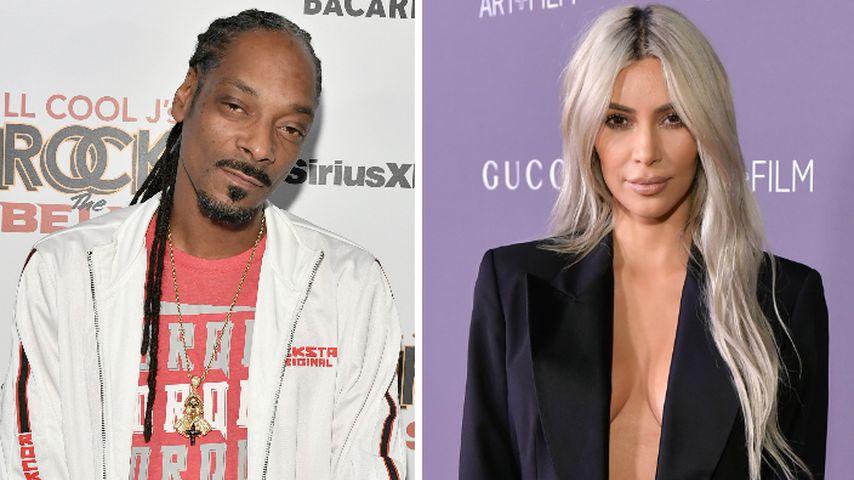 Kanyes Trump-Support: Snoop Dogg gibt Kim die Schuld!