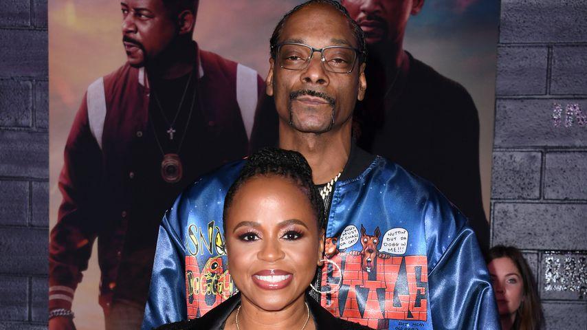Snoop Dogg und seine Frau Shante im Januar 2020