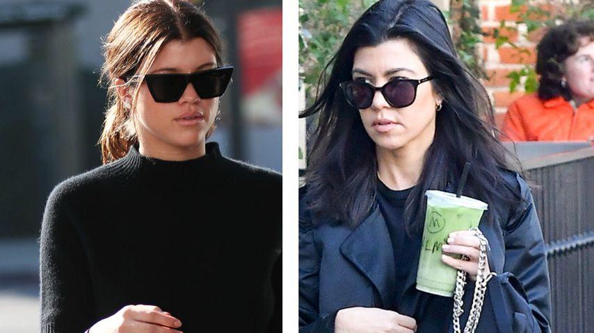 Immer ähnlicher! Wird Sofia Richie zum Kourtney-Twin?