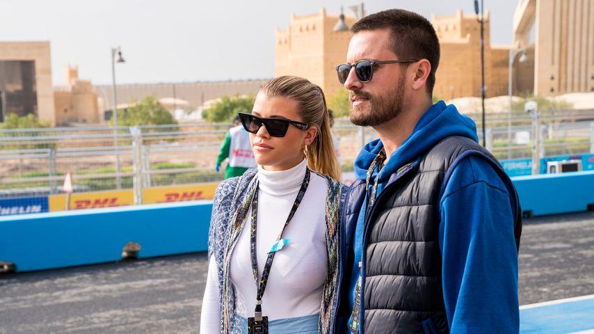 Sofia Richie und Scott Disick