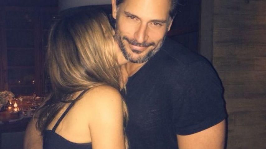 Sofia Vergara mit ihrem Ehemann Joe Manganiello