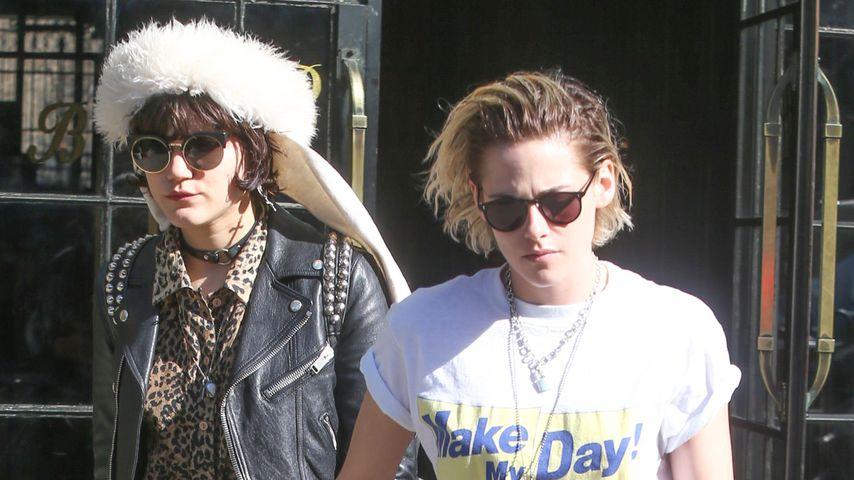 SoKo und Kristen Stewart in New York im April 2016
