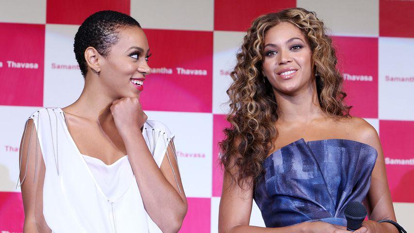 Solange Knowles und Beyoncé