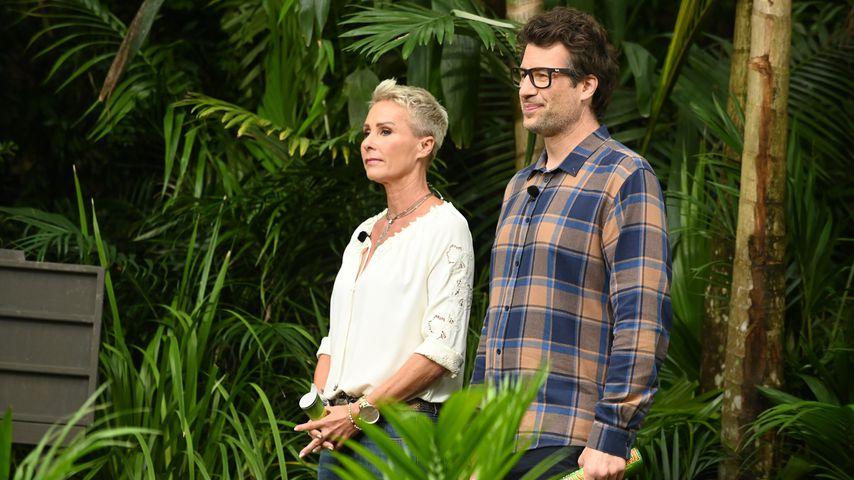 Sonja Zietlow und Daniel Hartwich im Dschungelcamp 2020